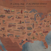 A Literary Map of the United States: Books that Sharpen Perception of the American Scene