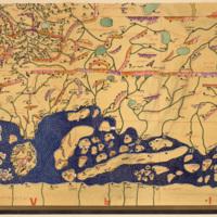 Sūrat al-ard lil-Sharīf al-Idrīsī al-mutawaffa sanat 560 image 1
