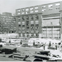 Construction of the South Building of Harlan Hatcher Graduate Library image 1