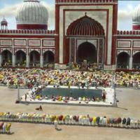 Jama Mosque, Morning Prayer, Shah Jahan (architect), 1656