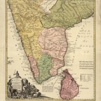 Peninsula Indiae citra Gangem hoc est orae celeberrimae Malabar et Coromandel: cum adjacente insula non minus celebratissima Ceylon image 1