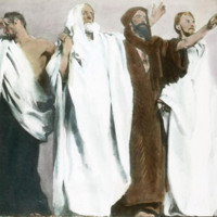 Frieze of Prophets from Triumph of Religion mural cycle at the Boston Public Library, John Singer Sargent (mural), installed 1895