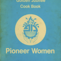 Golden Jubilee Cookbook 1925-1975