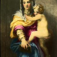 Madonna of the Harpies (detail), Andrea del Sarto, 1517