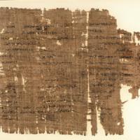 Scholia minora to Iliad 1. 1-9 (P. Mich. Inv. 1588)