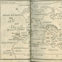 Bordone, 1528 (Map of Europe)