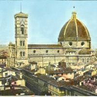 Il Duomo (Dome of Florence Cathedral), Filippo Brunelleschi, completed 1436
