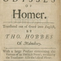 The Workes of Homer