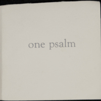 Bucholz_OnePsalm_Cover.jpg