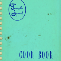 Temple Israel Cook Book