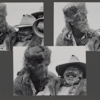 Photographs on the set of Buffalo Bill and the Indians, 1976.