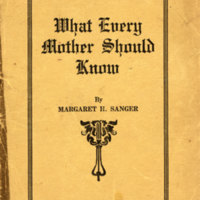 What Every Mother Should Know