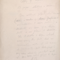Folder inscribed by Charles Lamacraft