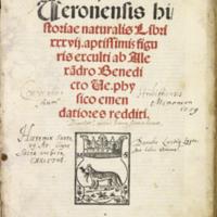 Pliny (Title Page)
