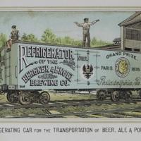 "The Bergner & Engel Brewing Co., Philadelphia. ( ""Refrigerating car..."")"