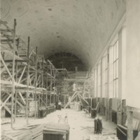 Interior Construction of the New General Library