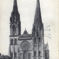 52 Chartres. - La Cathedrale.