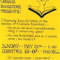 Woman's Bookstore Flyer