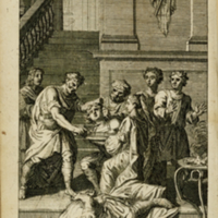 The works of Mr. William Shakespear... (1714); [Titus Andronicus plate]