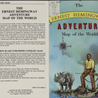 The Ernest Hemingway Adventure Map of the World