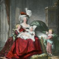 Marie Antoinette and her Children, Elisabeth Louise Vigee Le Brun, 1788