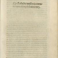Epistola de miseria curatorum seu plebanorum /Lavacrum conscientiae
