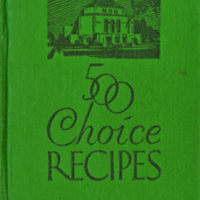 500 Choice Recipes