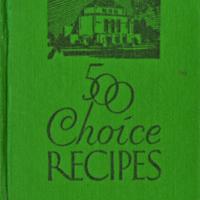 500 Choice Recipes