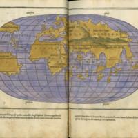 Bordone, 1534 (Map of the World)
