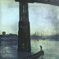 Nocturne Blue and Gold: Old Battersea Bridge, James Abbott McNeill Whistler, 1872-77