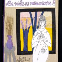La vida es minuciosa (Life is meticulous);  front cover