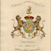 The martial achievements of Great Britain and her allies; from 1799 to 1815