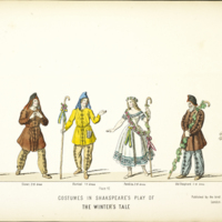 """""""Plate 16: Costumes in Shakespeare's Play of The Winter's Tale"""""""
