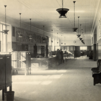 Circulation Desk at the General Library