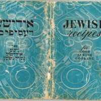 Jewish Recipes for Good Jewish Cooking