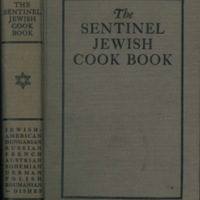 The Sentinel Jewish Cook Book