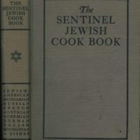 The Sentinel Jewish Cook Book image 1
