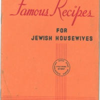 Famous Recipes for Jewish Housewives