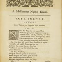 Midsummer Night's Dream (Pope, 1723-5)