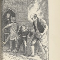 """Capture of Tom and Jacob Doodle-Calf at the school porch,"" p. 56"