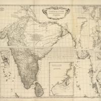 Carte de l'Inde : dressée pour la Compagnie des Indes image 1