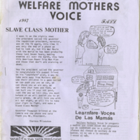 Welfare Mothers Voice 02