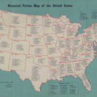 Historical Fiction Map of the United States