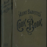 Aunt Babette's Cookbook