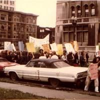 Gay Pride Rally in Detroit (1973)