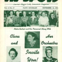 Hitting the Hi-Spots Magazine - 1951