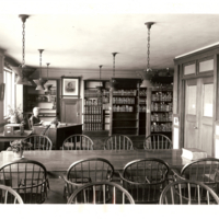 General Library, Graduate Reading Room 3 (Philosophy and Mathematics), ca. 1925  image 1