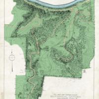 Plat of grounds, Botanical Garden Ann Arbor, Mich