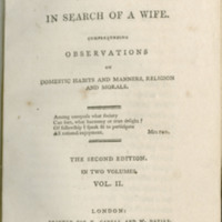 Coelebs in search of a wife. Comprehending observations on domestic habits and manners, religion and morals ...