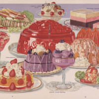 Jell-O, America's most famous dessert (1916); p. 9-10